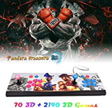 XFUNY Arcade Game Console 1080P 3D & 2D Games 2260 in 1 Pandora's Box 70 3D Games 2 Players Arcade Machine with Arcade Joystick Support Expand 6000+ Games for PC / Laptop / TV / PS4 (KOF)