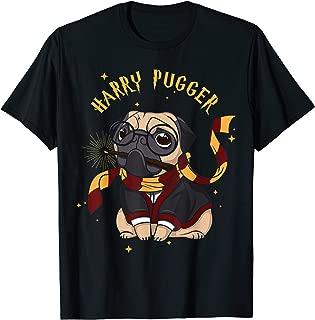Harry Pugger Magic Wizard Pug Shirt - Funny Pug Tshirt