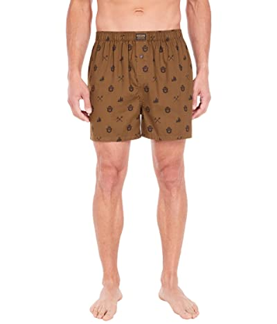 Filson Smokey Bear Lounge Shorts (Marsh Olive) Men