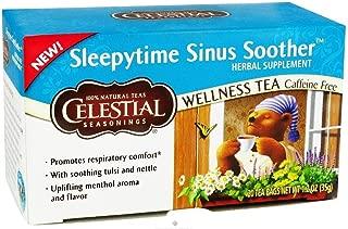 Celestial Seasonings Wellness Tea, Sinus Soother, 20-count (Pack of 3)