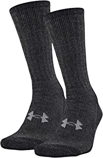 Under Armour Men's ColdGear Boot Socks (2 Pair)