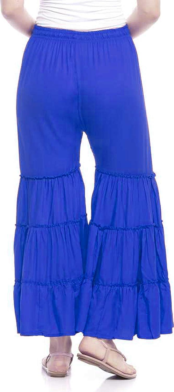 Lakkar Haveli Indian Women Sharara Pant Wedding Wear Palazzo Pant Royal Blue Ethnic Beach Wear Baggie Wear Trouser Pant