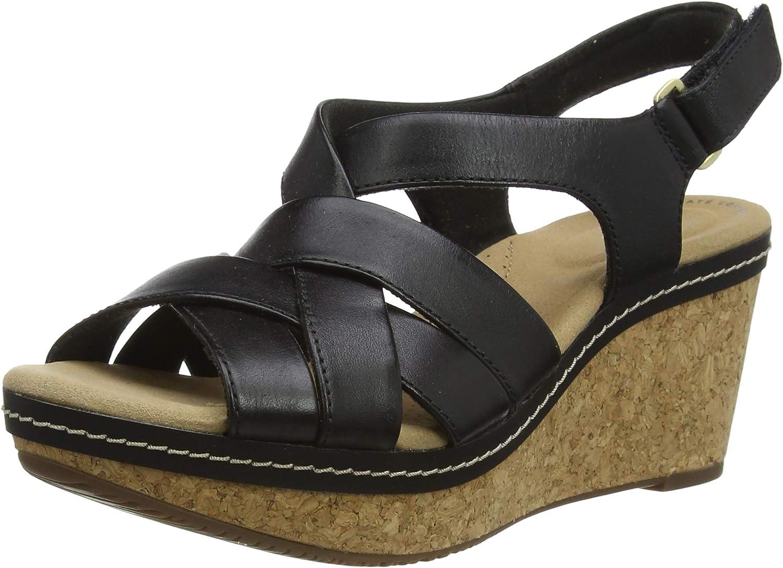 Clarks Women's Ankle Strap Heeled Sandal