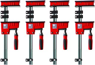Bessey KR3.540 40-Inch K Body REVO Fixed Jaw Parallel Clamp, 4-Pack