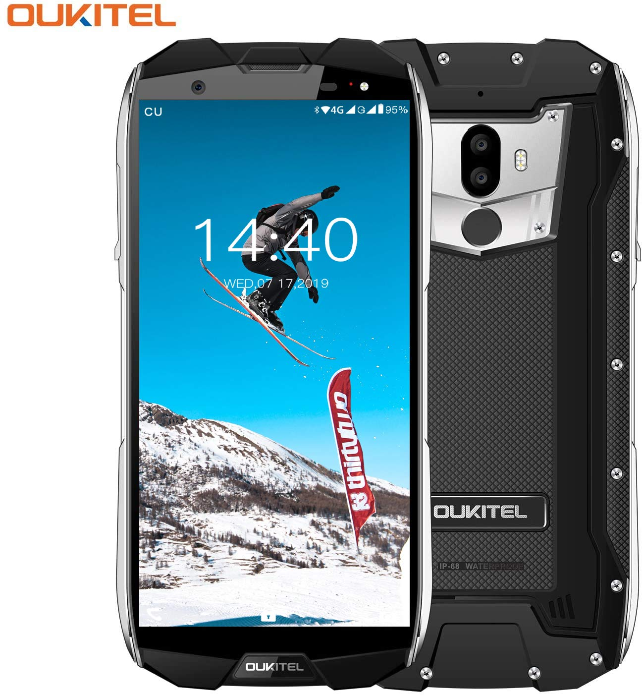 Móvil Libre Resistente,OUKITEL WP5000 Teléfono Móvil a Prueba de ...