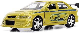 New DIECAST Toys CAR JADA 1:32 W/B - Metals - Fast & Furious - Brian`s Mitsubishi Lancer Evolution VII (Green) 99789