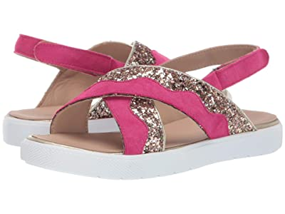 Elephantito Aline Crossed Sandal (Toddler/Little Kid/Big Kid) (Fuchsia) Girls Shoes