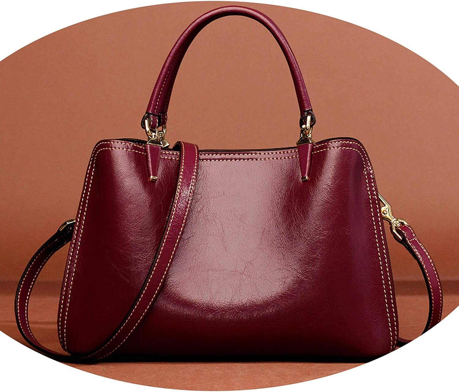 Casual Tote and Handbag Women Split Leather Classy Shoulder Bags Crossbody Bag for Lady,904J006L1R