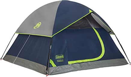 Coleman 4-Person Dome Tent for Camping | Sundome Tent...