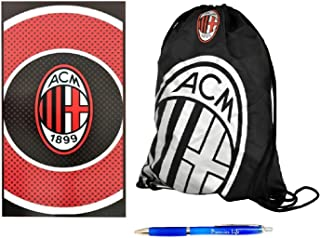 Back to School with AC Milan FC Gym Bag And Towel