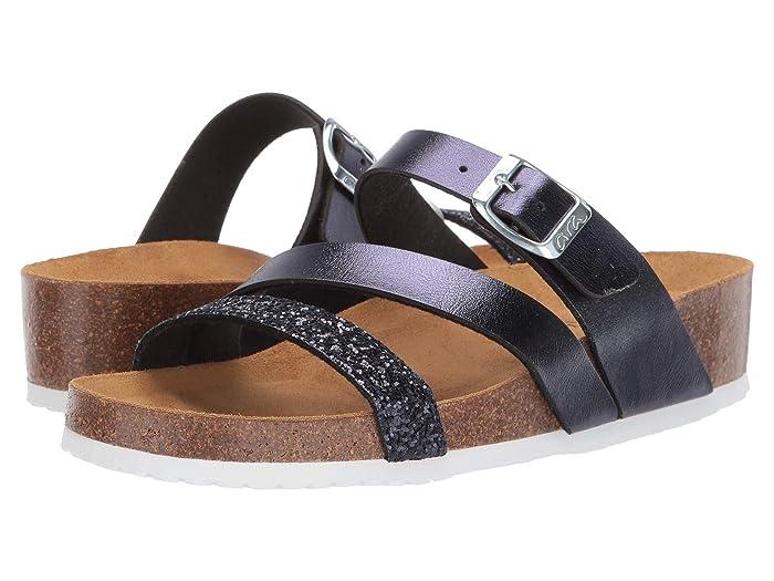 ara  Bailey (Blue Glitter/Calf) Womens Sandals