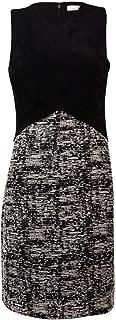 Calvin Klein Women's Cross Bodice Novelty Dress