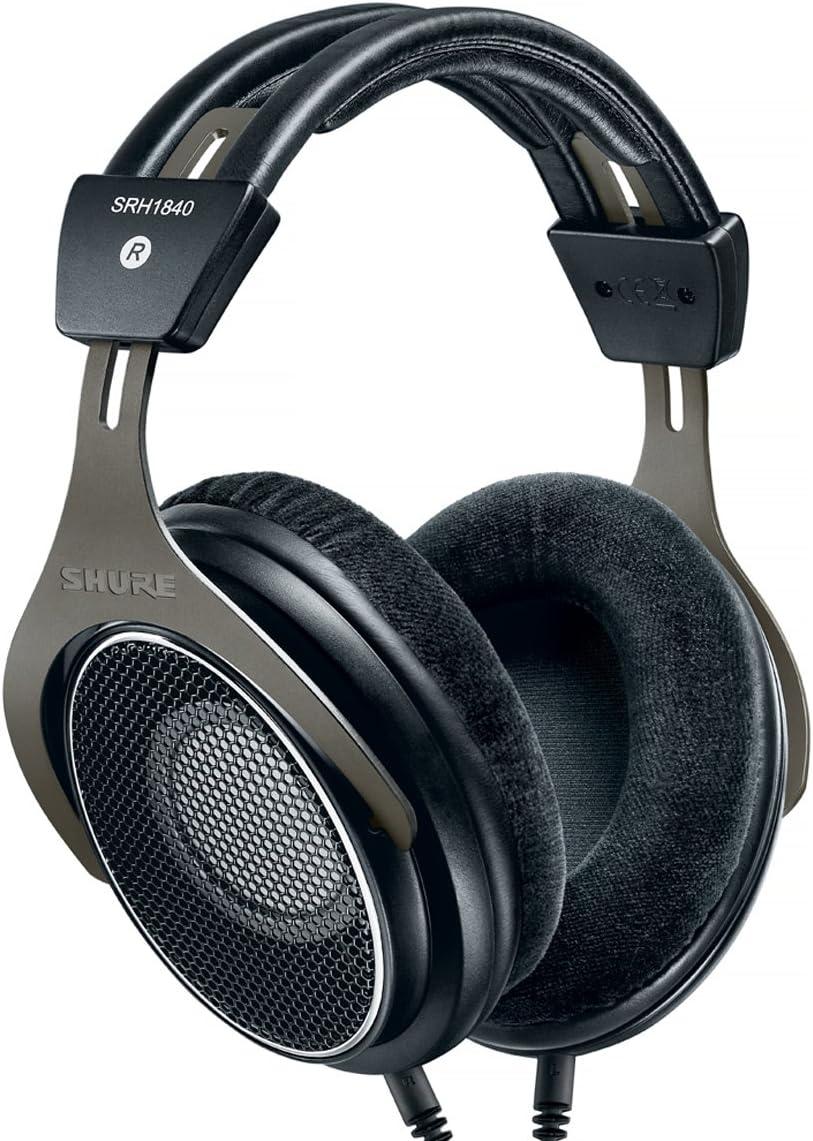 Shure SRH1840 Max 74% Max 62% OFF OFF Professional Open Back Headphones Black