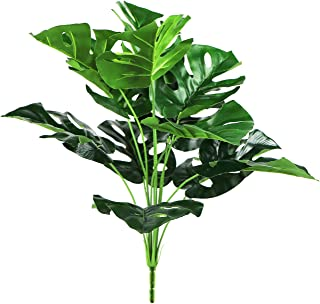 Artificial Plants Fake Leaves Faux Tropical Plant Imitation Ferns Artificial Plant for Potted Home Decor (21