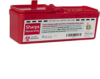 purse size sharps container