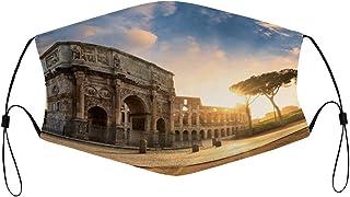 LUOWAN Destinos Atardecer Italia Antigüedades Arquitectura de adoquines Amanecer Monumento Lazio Journey anfiteatro Cielo