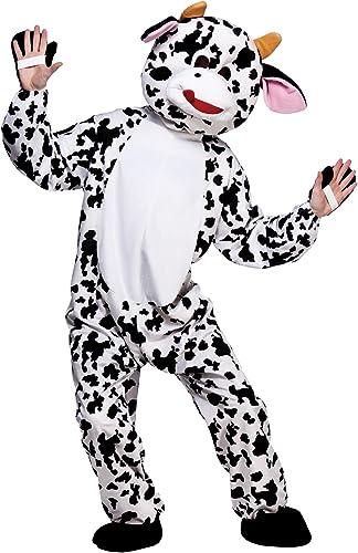 edición limitada Cute Cow Cow Cow Mascot (NEW) - Adult Costume Adult - One Talla  venta caliente en línea