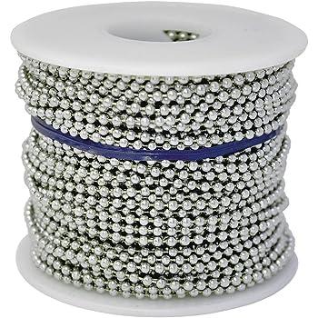 Inc Ball Chain #3 Spool Stainless Steel 100 Feet Ball Chain Manufacturing Co #3SPOOL-SS-100