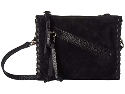 Vince Camuto Caol Small Crossbody (Black) Cross Body Handbags