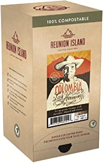 Reunion Island Colombia Las Hermosas Coffee Pods-3 Pack-48 Coffee Pods Total
