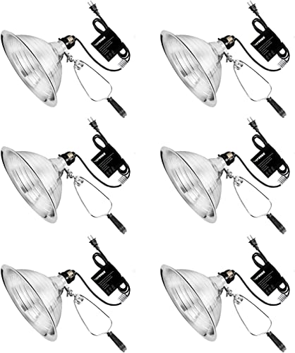 high quality VIVOSUN outlet online sale Clamp Lamp Light with Detachable Aluminum Reflector sale with No Bulb Included Pack of 6 online sale
