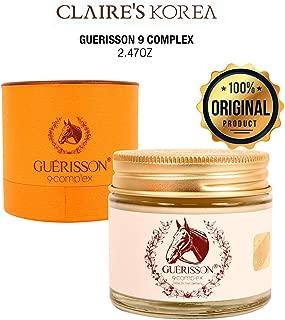 CLAIR'S KOREA Guerisson 9 Complex MOISTUR CREAM 2.47oz K Beauty Facial Care K-Beauty Skin Care