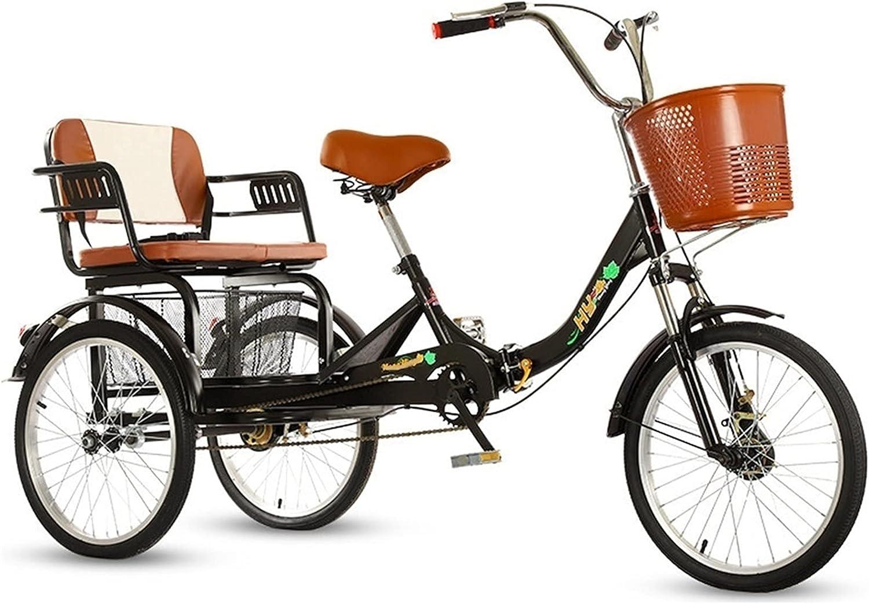 TANGIST 1 Speed Baltimore Mall 3-Wheel Adult Three-Wheeled Trike Save money Bike Bicyc 20