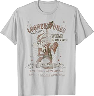 Looney Tunes Wile E Coyote Guitar T-Shirt