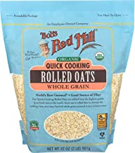 Bob's Red Mill Organic Quick Cooking Rolled Oats, 32 Oz