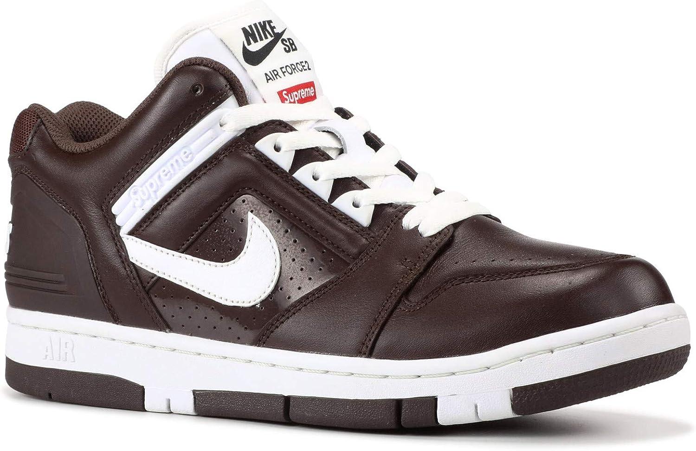 de primera categoría El diseño Puede soportar  Amazon.com   Nike SB AF2 Low Supreme Mens Trainers Aa0871 Sneakers Shoes  (UK 7 US 8 EU 41, Baroque Brown White 212)   Skateboarding