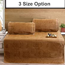 Summer 3PCS/Set Rattan Mat Mattresses Sleeping Cooling Bed Cover Pillowcases Bedding Home Textile 3 Sizes Natural Bamboo,1...