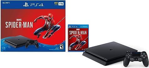 PlayStation 4 Slim 1TB Console - Marvels Spider-Man Bundle (Renewed)