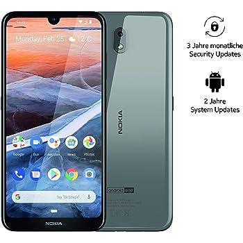 Nokia 3.2 Dual SIM Smartphone – mercancía alemana (15,9 cm (6,26 pulgadas), cámara principal de 13 MP, 2 GB de RAM, 16 GB de memoria interna, Android 9 Pie) acero: Amazon.es: Electrónica