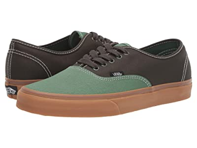 Vans Authentictm ((Gum) Fairway/Forest Night) Skate Shoes