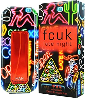Fcuk Late Night EDT Spray for Men, 100ml