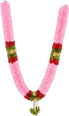 Daedal Crafters- Big Size Garland(125 cms), Baby Pink DC147