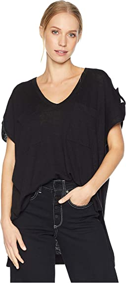 V-Neck Pullover with Pockets