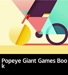 Popeye Giant Games Book: Picture books for children's Enlightenment (English Edition)