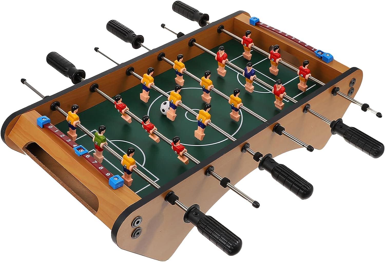 LIOOBO Mini free shipping Tabletop Foosball Soccer Max 52% OFF Game