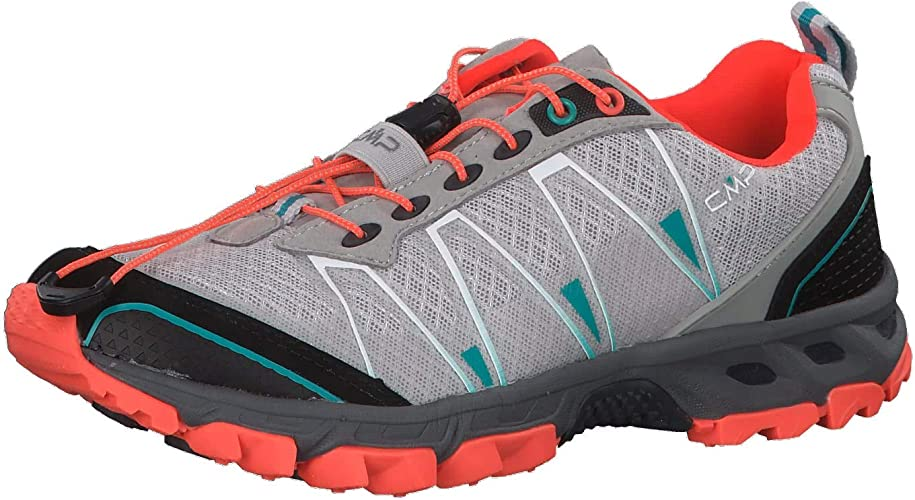 CMP - Atlas Chaussures de Trail Running pour Femmes (Noir Vert)