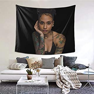 Wonderbce Tapestry 6051inch Kehlani Tapestry, Wall Tapestry, Tapestry Scenery Lhippie Cherry Blossoms Star