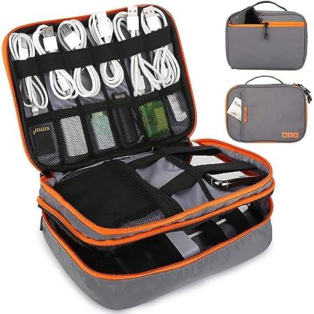 Tensphy Kabeltasche Elektronische Tasche Wasserdicht Computer Zubehör