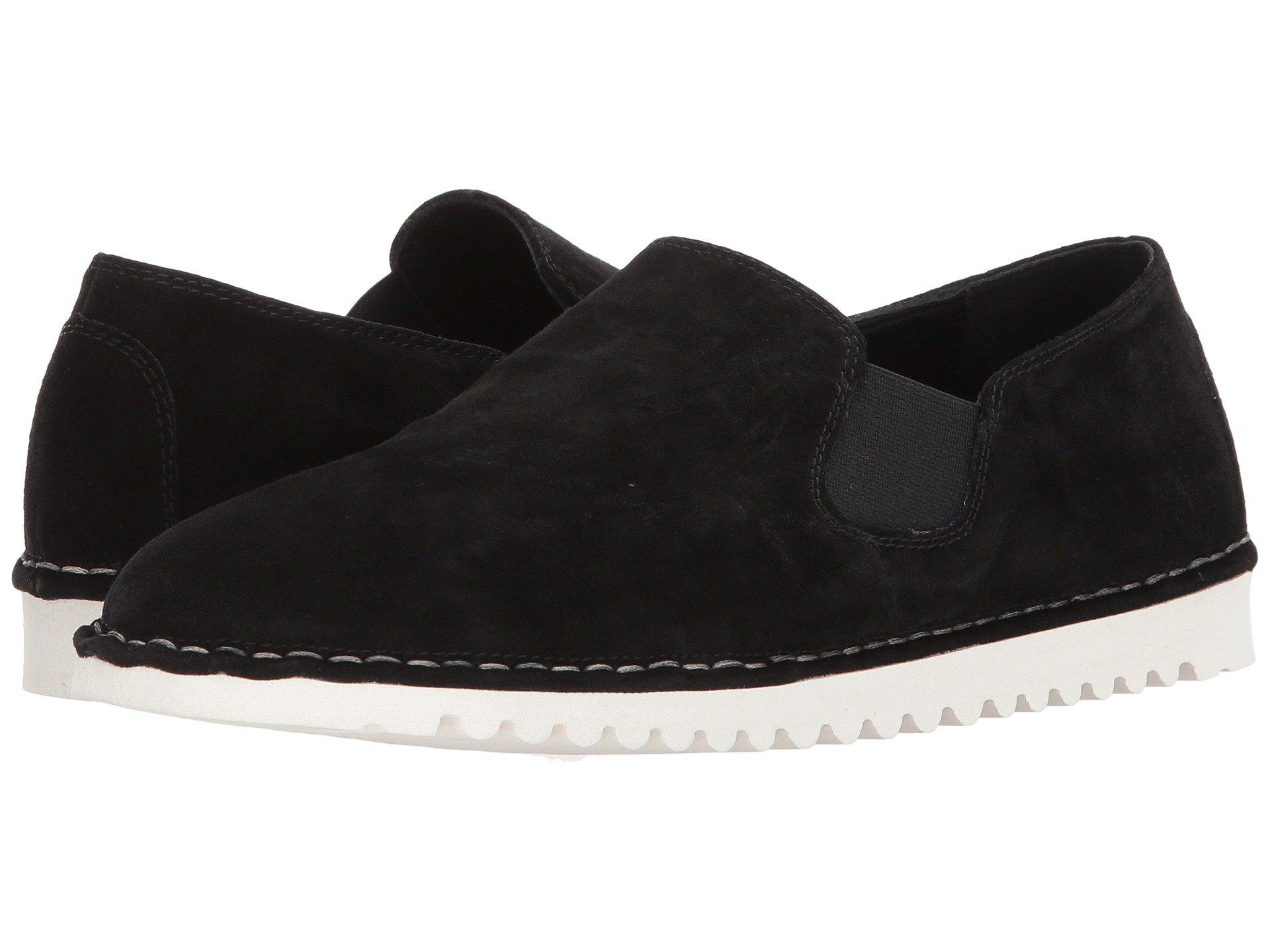 SESTO MEUCCI Oralie Suede Sneakers, Black