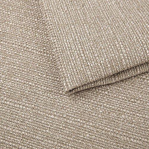 Pure Textilien Webstoff Strukturstoff Portland - Möbelstoff Polsterstoff Uni Meterware - beige 22