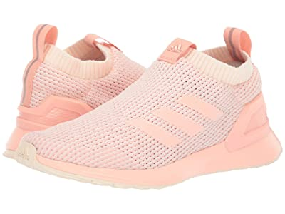 adidas Kids RapidaRun LL Knit (Big Kid) (Glow Pink) Girls Shoes