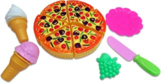 Dazzling Toys Idea Pizza Pie Party Fast Food Cooking | Cutting and Accessories 11 Piece Set