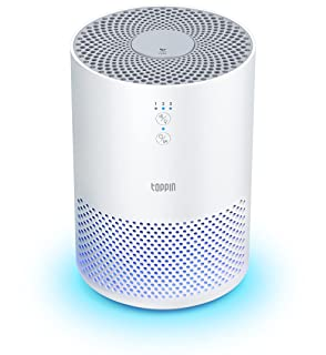 TOPPIN HEPA Air Purifiers for Home - TPAP002 with Fragrance Sponge UV Light, Eliminate Pollen Pet Hair Dander Smoke Dust O...