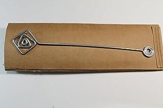 Segnalibro Puck Argento,interamente realizzato a mano in alluminio e corredato di custodia in cartoncino,anch'essa realizz...