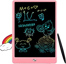 FLUESTON LCD Writing Tablet 10 Inch Drawing Pad, Colorful Screen Doodle Board for Kids, Traveling Gift Toys for 2 3 4 5 6 ...