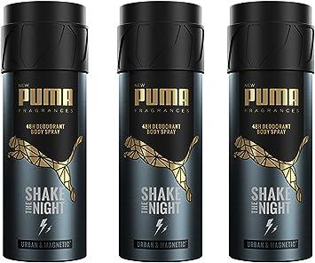 PUMA Fragrances - Déodorant Homme Body Spray 48h Shake the Night ...